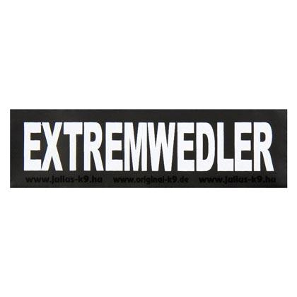 """Julius-K9® Klettsticker """"Extremwedler"""""""