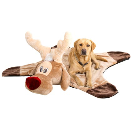 "Hondenknuffeldeken ""Rudolf"""