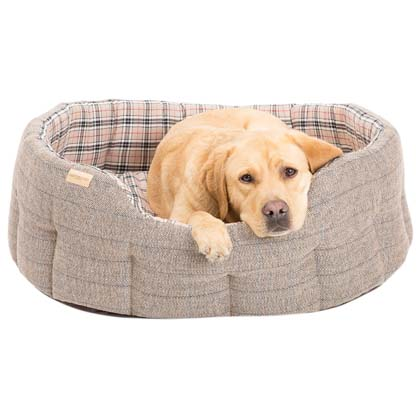 "Earthbound Hundebett ""Traditional Tweed Bed"""