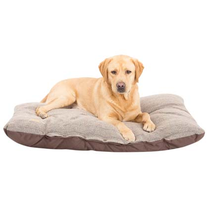 "Earthbound Hundekissen ""Tweed Flat Cushion"""