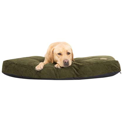 "Earthbound Hundekissen ""Cord Flat Cushion"""