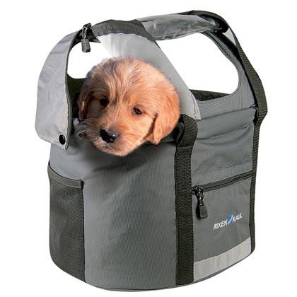 "KLICKfix-Fahrrad-Hundetransporttasche ""Doggy Tour"""