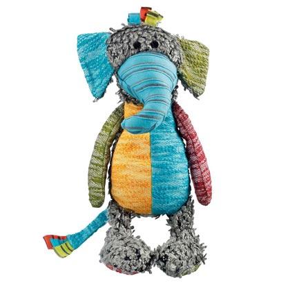 """HUNTER Hunde-Plüschspielzeug """"Patchwork Hobbs Elefant"""""""