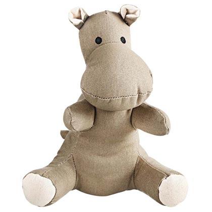 "HUNTER Hunde-Spielzeug  ""Canvas Hippo"""