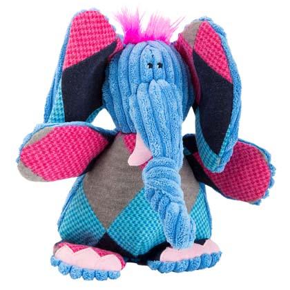"""HuggleHounds® Hunde-Plüschspielzeug """"Elefant"""""""