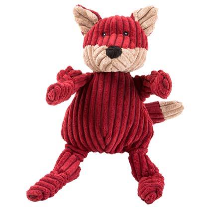 "HuggleHounds® Hunde-Plüschspielzeug ""Woodland Knottie Fox"""