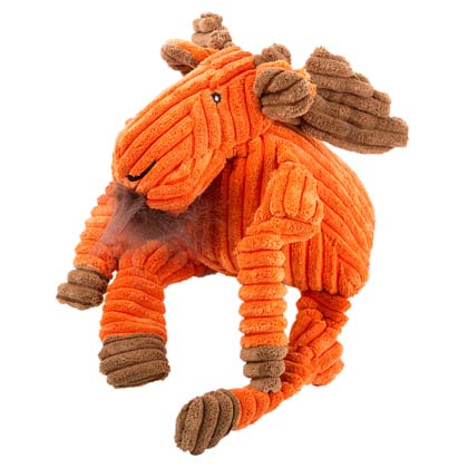 "HuggleHounds® Hunde-Plüschspielzeug ""Woodland Knottie Moose"""