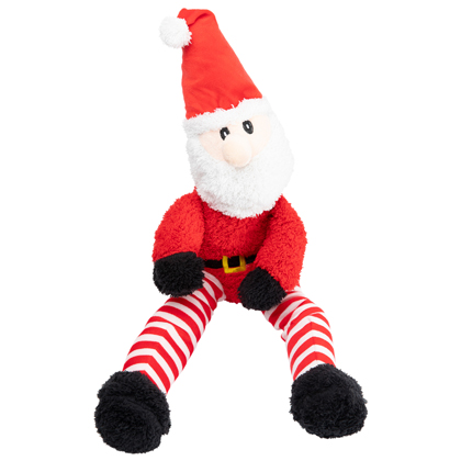 "Hunde-Plüschspielzeug ""Supersize Christmas Santa"""
