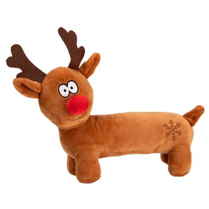 """Hunde-Plüschspielzeug """"Long Belly Reindeer"""""""