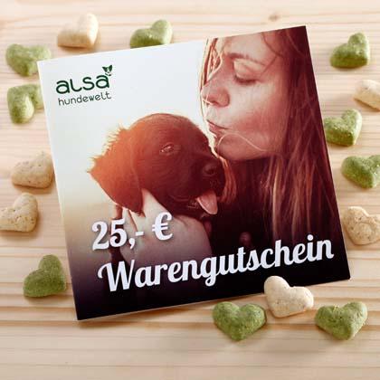 alsa Warengutschein 25,- €