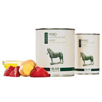 alsa-nature Enkel-Eiwit Paard met aardappel