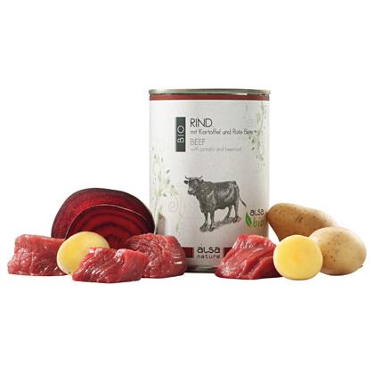 alsa-nature BIO Rind mit Kartoffel und Rote Bete