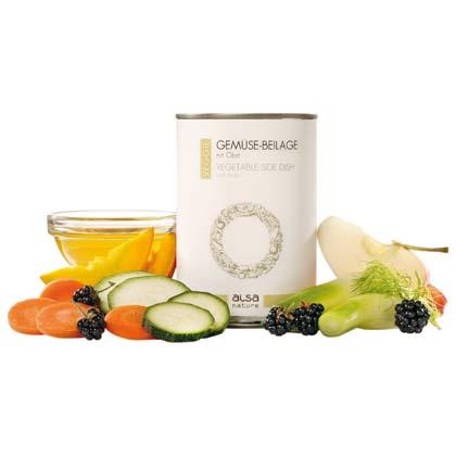 alsa-nature VEGGIE Gemüse-Beilage mit Obst