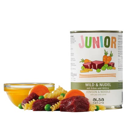 alsa-nature Junior-Menü Wild & Nudel