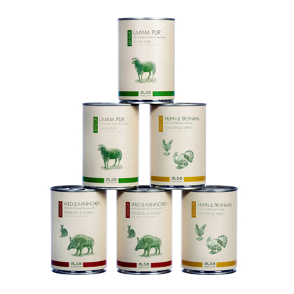 alsa-nature Senior Dosen-Menü-Mix 400 g Dosen