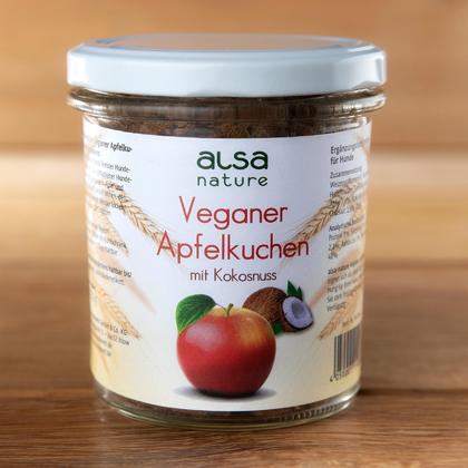 alsa-nature Veganer Apfelkuchen im Glas
