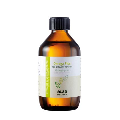 alsa-nature Omega 3 Plus 6 Fell & Haut-Öl-Komplex
