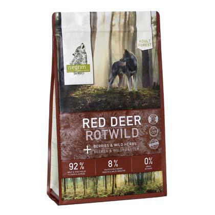 isegrim FOREST Rotwild mit Beeren & Wildkräutern