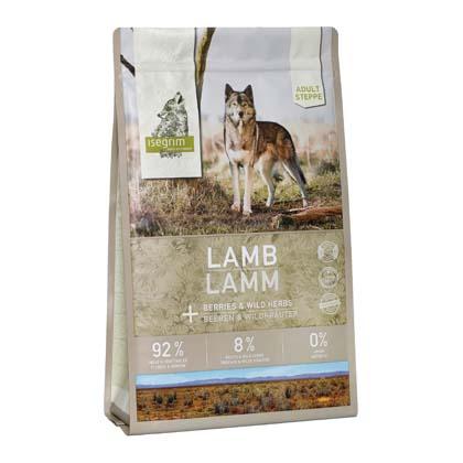 isegrim® STEPPE Lamm mit Beeren & Wildkräutern