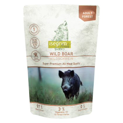 isegrim® Roots FOREST Wildschwein pur