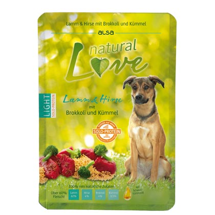 alsa natural Love Single-Protein Lamm mit Hirse, Brokkoli und Kümmel