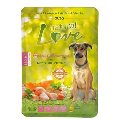 alsa natural Love Single-Protein Huhn mit Amarant, Kürbis und Petersilie