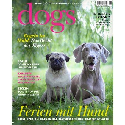 "Prämie 1: ""dogs""-Jahresabo"
