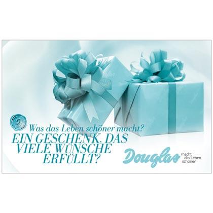 Prämie 4: Douglas-Geschenk-Gutschein im Wert von 25,- €