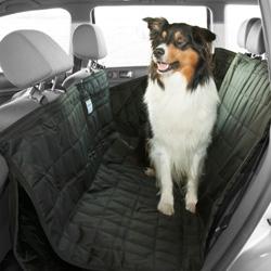 Hundedecke Allside Comfort schwarz, Maße: ca. 155 x 140 cm - alsa-hundewelt