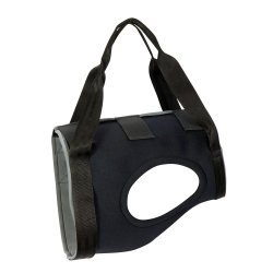 Julius-K9® Hundegeschirr Gehhilfe schwarz, Bauchumfang: ca. 60 - 75 cm - alsa-hundewelt
