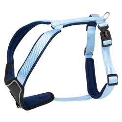 Hundegeschirr Professional Comfort hellblau, Breite: ca. 15 mm, Bauchumfang: ca. 27 – 32 cm - alsa-hundewelt