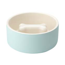 Magisso® Hundenapf Cooling Ceramics hellblau, Durchmesser:  ca. 15 cm - alsa-hundewelt
