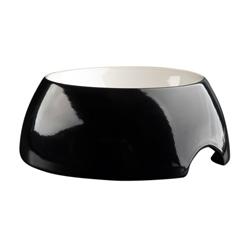 Hundenapf Grey Essentials schwarz, Maße: ca. 21 x 0,8 cm - alsa-hundewelt