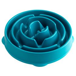 Hundenapf Anti-Schling blau, Durchmesser:  ca. 28 cm - alsa-hundewelt