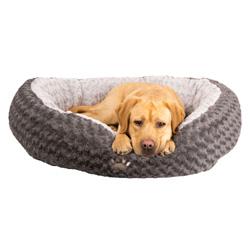 Hundebett Donut-Dream grau - alsa-hundewelt