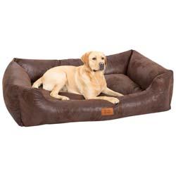 alsa-brand Hundebett Antik, Außenmaße: ca. 117 x 82 x 28 cm - alsa-hundewelt