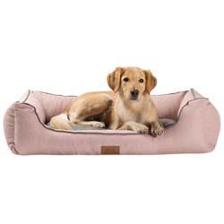 alsa-brand Hundebett Rom rosa, Außenmaße: ca. 80 x 60 x 27 cm - alsa-hundewelt
