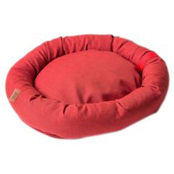 NUFNUF Hundebett Buddy rot - alsa-hundewelt