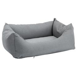 Hundebett Green Line Lounge grau, Maße: ca. 60 x 48 cm - alsa-hundewelt