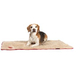 Scruffs Hundedecke Snuggle rot, Maße: ca. 110 x 75 cm - alsa-hundewelt