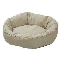 Hundebett Cocoon natur, Außenmaße: ca. 110 x 95 cm - alsa-hundewelt