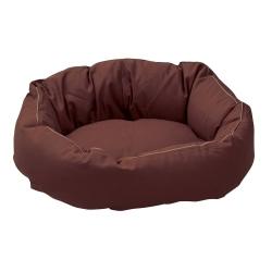 Hundebett Cocoon braun, Außenmaße: ca. 55 x 45 cm - alsa-hundewelt
