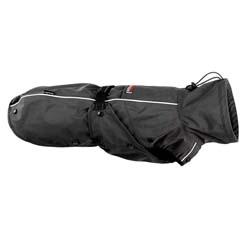 STOCK + STEIN Hunderegenmantel und -pullover 4-Seasons Master Set schwarz, Rückenlänge: bis 34 cm, Halsumfang: ca. 43 cm - alsa-hundewelt