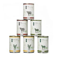 alsa-nature BIO Menü-Mix Nassfutter, Anzahl: 6 x 400 g, 400 g, Hundefutter nass - alsa-hundewelt