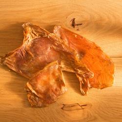 alsa-nature Straußen-Chips Kauartikel, 3 x 250 g, Hundefutter - alsa-hundewelt