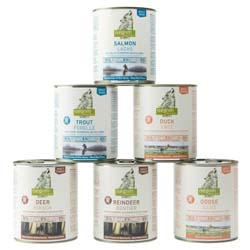 isegrim® Dosen-Menü-Mix, Anzahl: 12 x 800 g, 800 g, Hundefutter nass - alsa-hundewelt