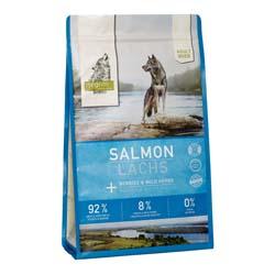 isegrim® RIVER Lachs mit Beeren & Wildkräutern Trockenfutter, 3 kg, Hundefutter trocken - alsa-hundewelt