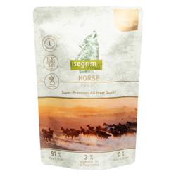 isegrim® Roots FIELD Pferd pur, 14 x 410 g, Hundefutter - alsa-hundewelt