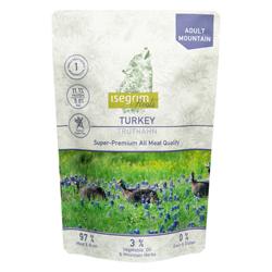 isegrim® Roots MOUNTAIN Truthahn pur, 14 x 410 g, Hundefutter - alsa-hundewelt