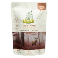 isegrim® Roots FOREST Hirsch & Wild, 14 x 410 g, Hundefutter - alsa-hundewelt